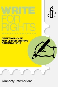 Write for Rights 2013