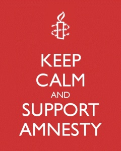 Keep Calm and Support Amnesty