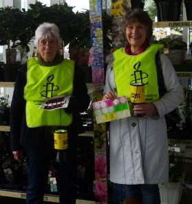 Collecting for Amnesty